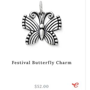 Festival butterfly charm